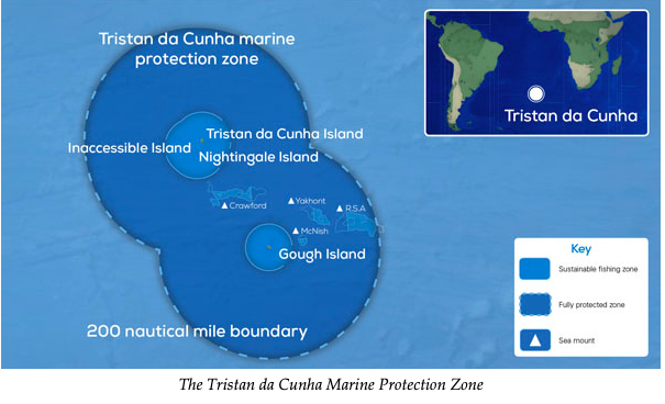 Another Notch on the U.K.'s Blue Belt- Tristan da Cunha's Marine Protection