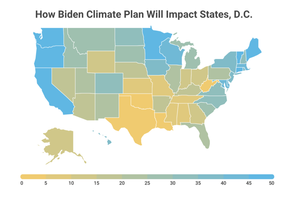 Biden's Climate Plan to Benefit Southern States Most Profoundly