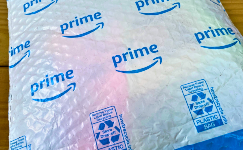 Study Finds that Amazon Generates Enough Plastic to Circle Globe 500 Times