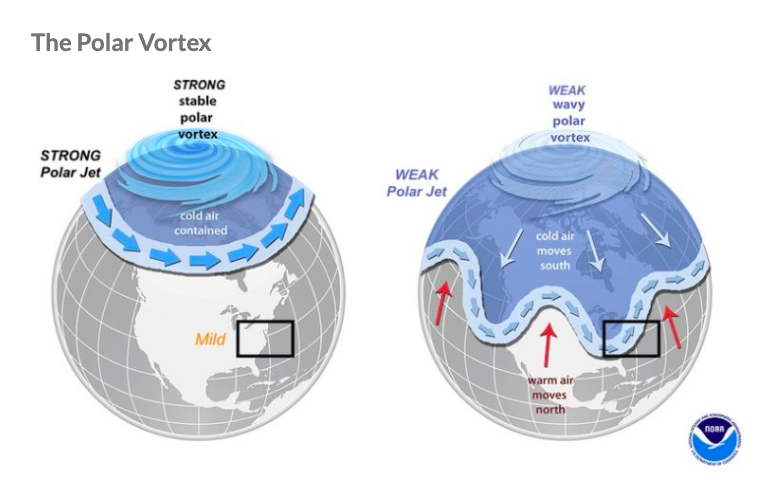 BRRRR – Global Warming Could Cause Polar Vortex to Blast the U.S. With Cold Air