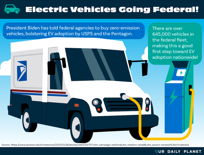 Biden Intends to Replace Federal Fleet with EVs