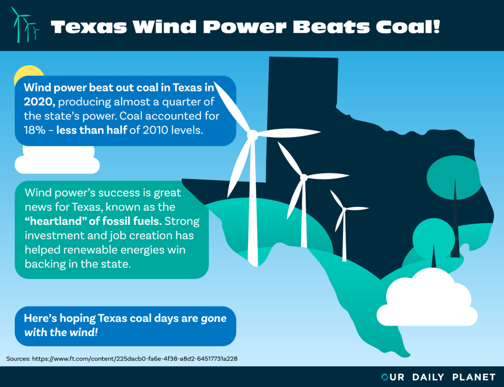 Wind Power Blows Coal Away in Texas