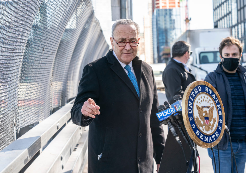 Schumer Supports Declaring Climate Change a National Emergency