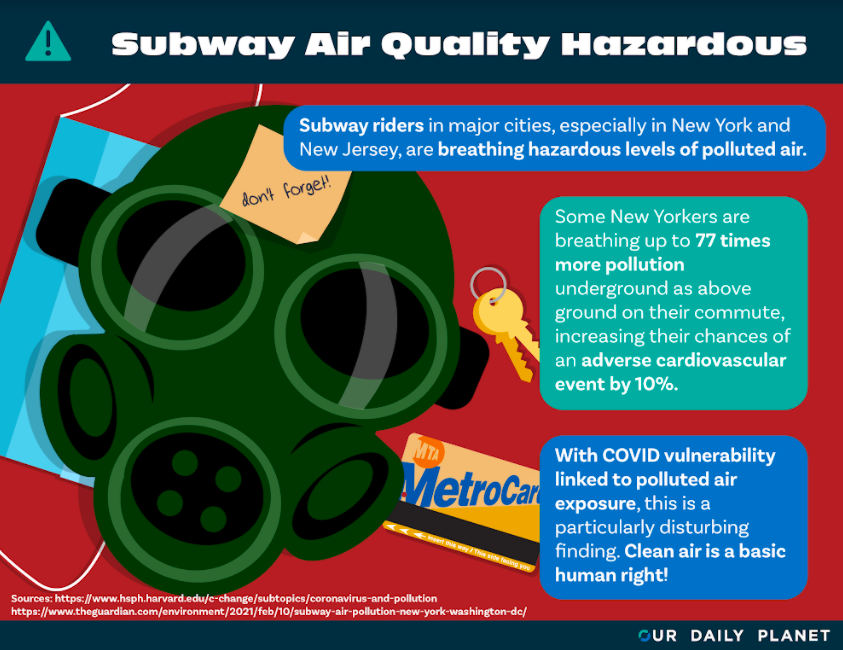 Dirty Air Goes Underground