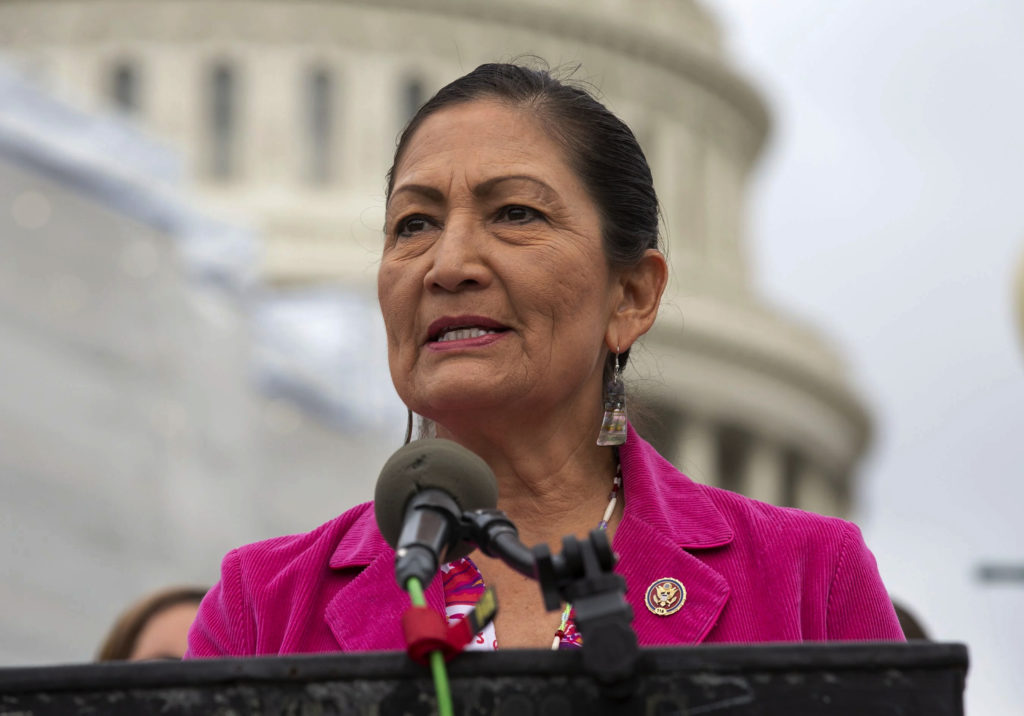 Haaland Faces Tough Opposition from Oil State Republicans at Confirmation Hearing