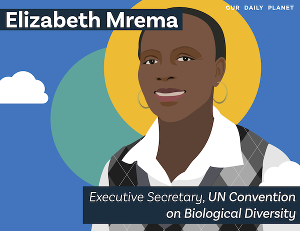 Champion for Nature, Biodiversity and Conserving #30×30: Elizabeth Mrema