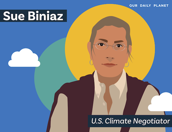US Climate Negotiator Back For More: Sue Biniaz
