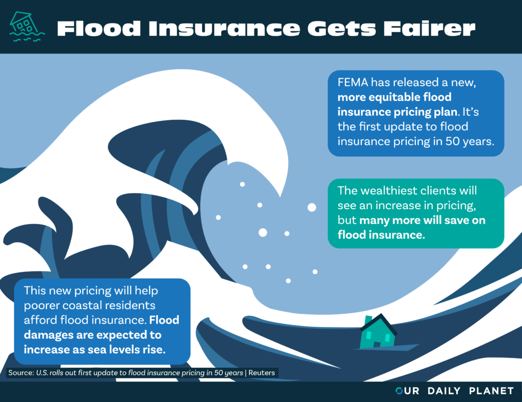 FEMA Announces Flood Insurance Rate Changes to Improve Equitability