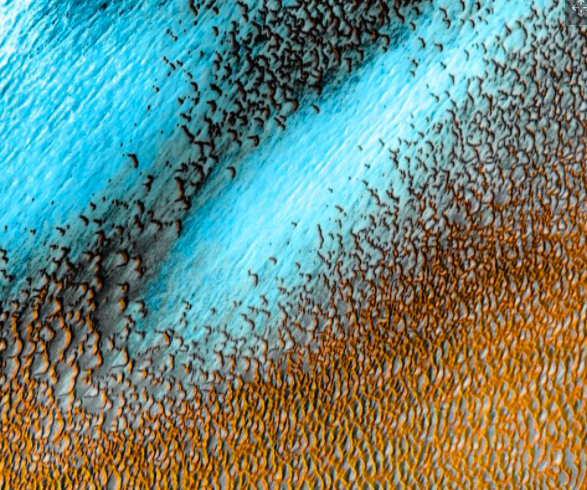 One Cool Thing: Blue Dunes on the Red Planet?