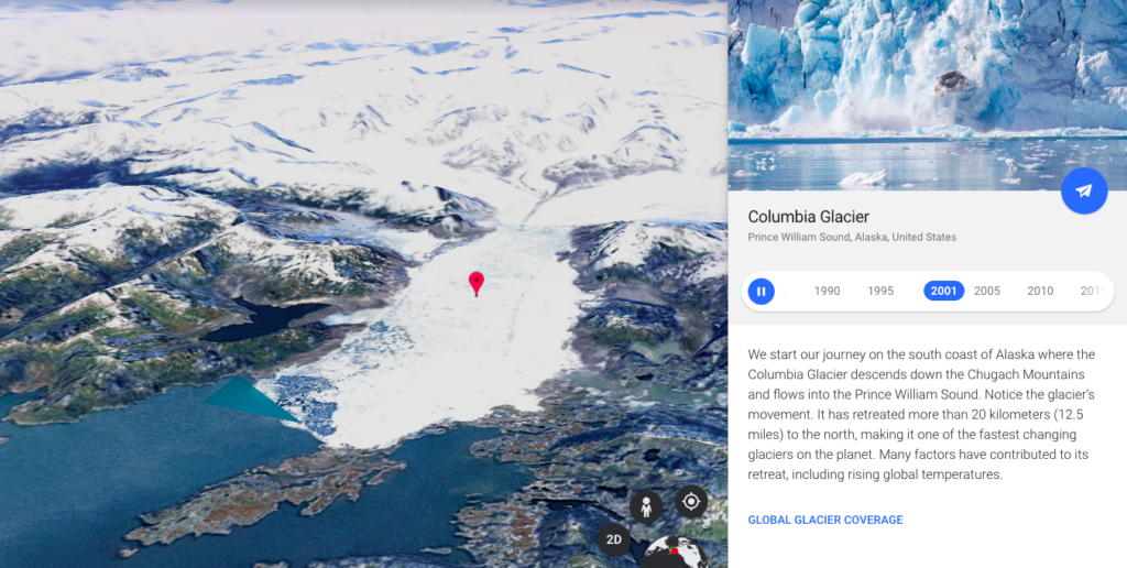 Google Unveils 37 Year Time-lapse of Earth's Surface, Reveals Melting Glaciers, Deforestation