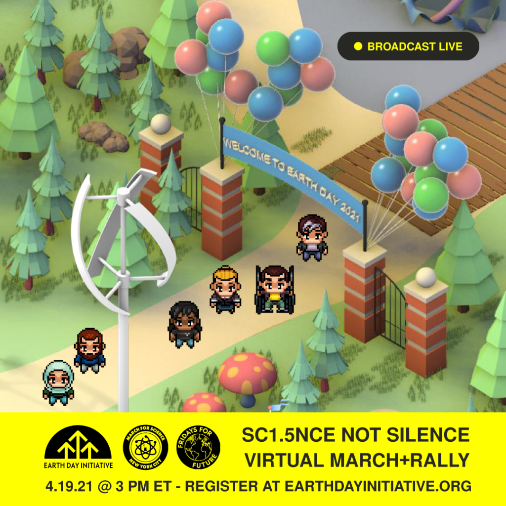 Earth Day Initiative Hosts Video Game Inspired Virtual Festival