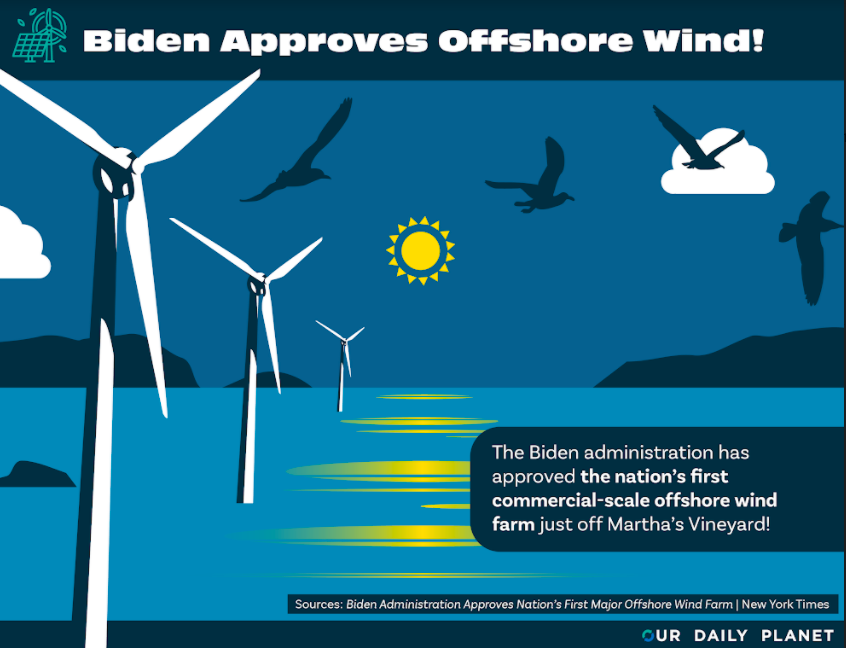Biden Administration Approves Largest Offshore Wind Project to Date
